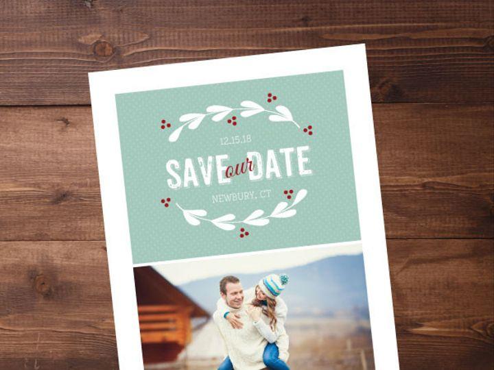 Tmx 1424820399652 Savethedates12 Issaquah wedding invitation