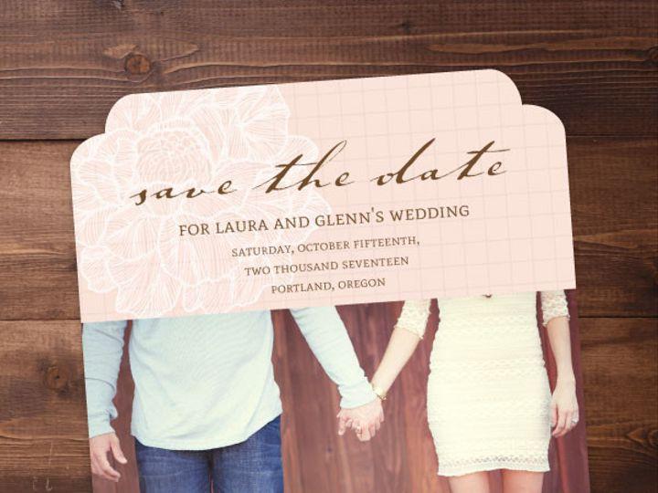 Tmx 1424820415810 Savethedates17 Issaquah wedding invitation