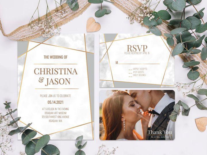 Tmx 1 51 498943 157861314794212 Issaquah, WA wedding invitation