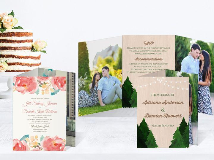 Tmx 5 51 498943 157861314781700 Issaquah, WA wedding invitation
