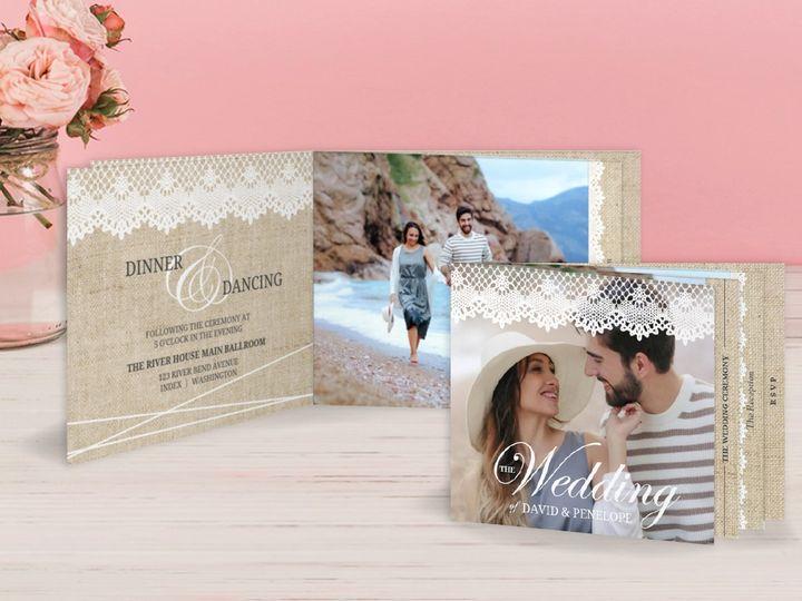 Tmx 6 51 498943 157861314892163 Issaquah, WA wedding invitation