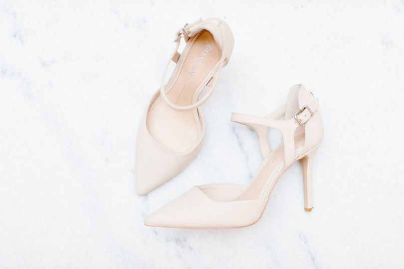 Classic bridal shoes
