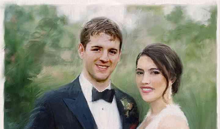Patronart Custom Wedding Paintings