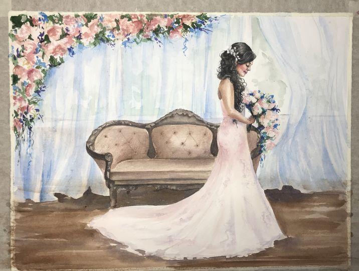Bridal painting