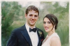 Patronart Custom Wedding Paintings