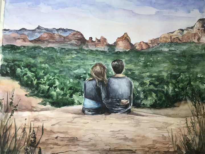 Engagement painting