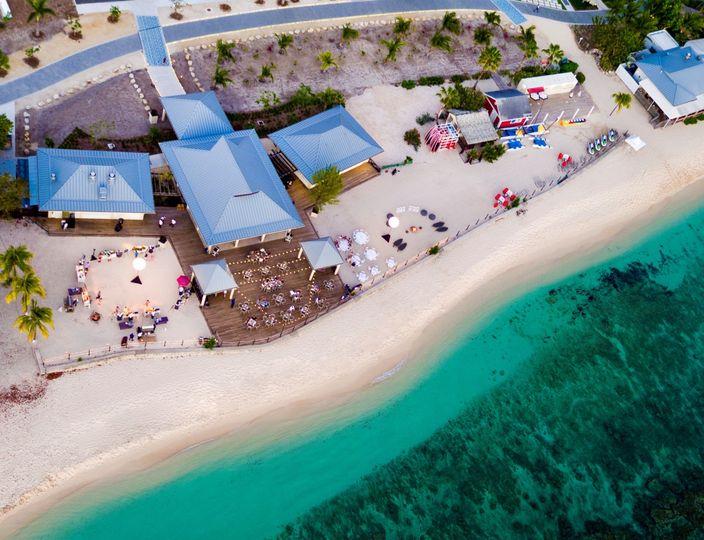 Beach Deck Arial