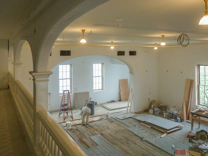 The renovation process