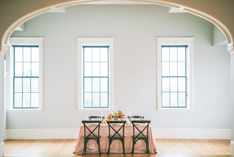 Elegant and bright space