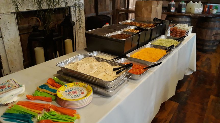 Small catering event