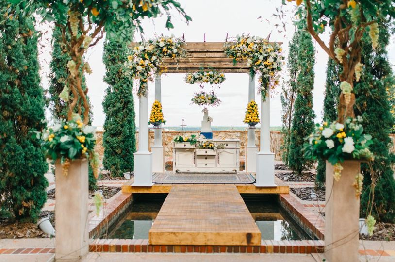 Our overwater gazebo and dessert buffet displayed at the beautiful Bella Collina. We love creating...