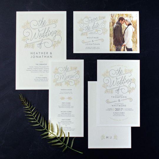 michelle wedding set