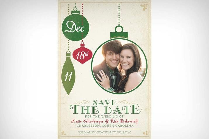 Tmx 1354860466306 Savethedateholiday Denver wedding invitation