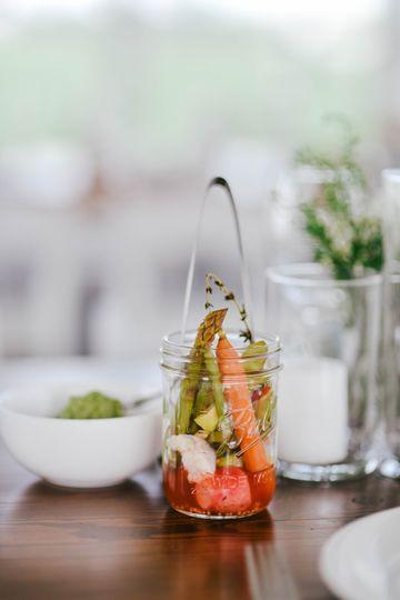 Family styles Nordic menu