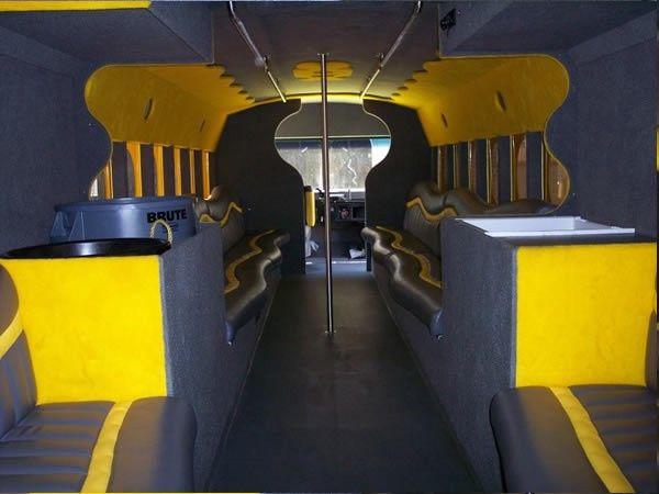 Yellow Sub interior