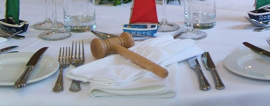 Have gavel will travel