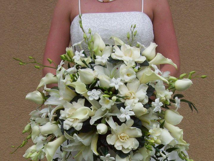 Tmx 1510954767435 All White Large Cascade Columbus wedding florist