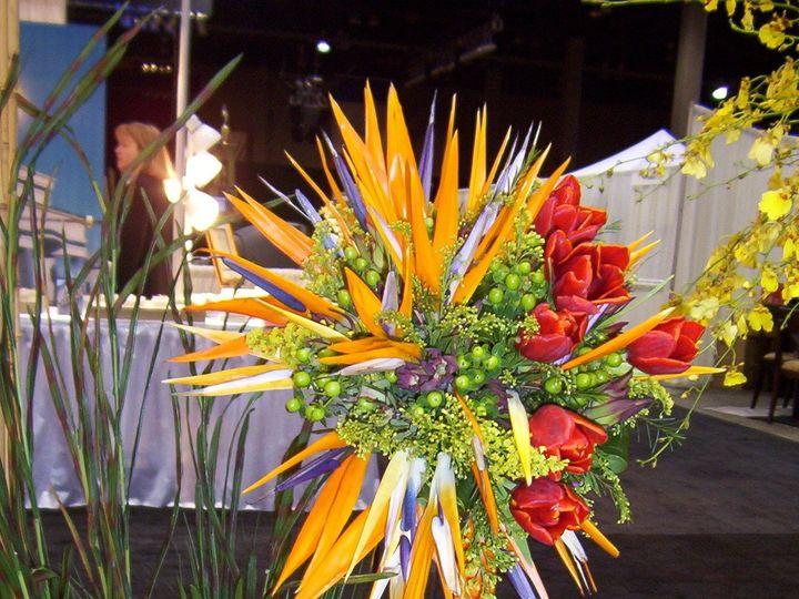 Tmx 1510954777663 Bird Of Paradise Bouquet Columbus wedding florist