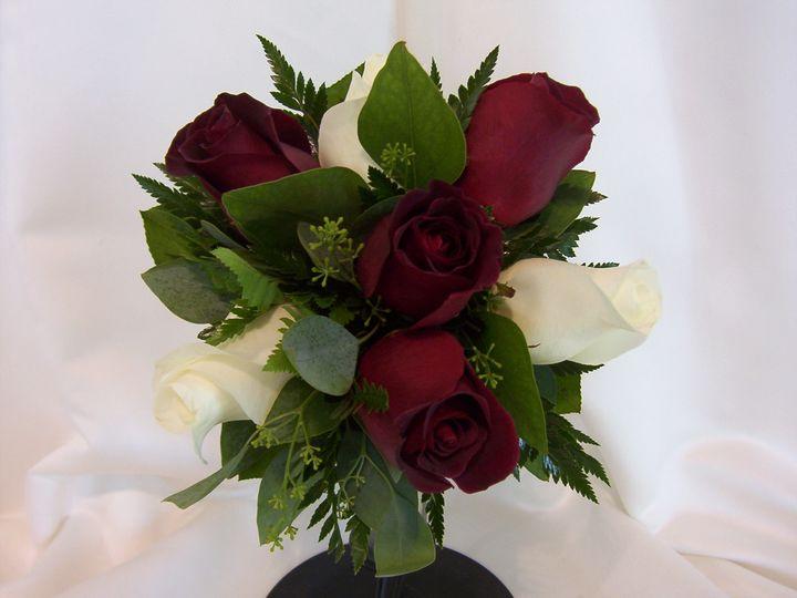 Tmx 1510954787448 Black Baccara And White Roses Columbus wedding florist