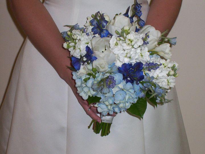 Tmx 1510954815657 Blues And White Handtied Columbus wedding florist