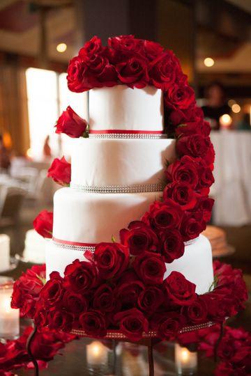 Julie's Wedding Cake