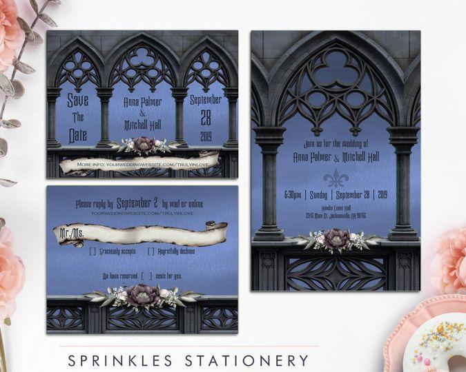 Sprinkle Stationery