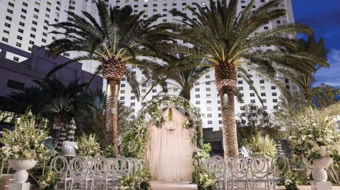 Park MGM Pool Ceremony