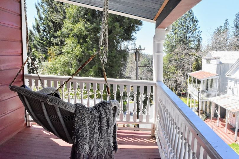 Swing porch on 2nd balcony