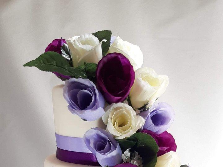 Tmx Purpleweddingcake2019 51 1936053 159337309948170 Frisco, TX wedding cake