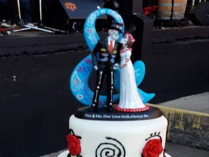 Tmx Sugarskullwedding480x720 51 1936053 158888472866733 Frisco, TX wedding cake