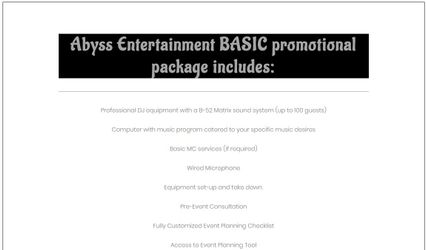 Abyss Entertainment 2