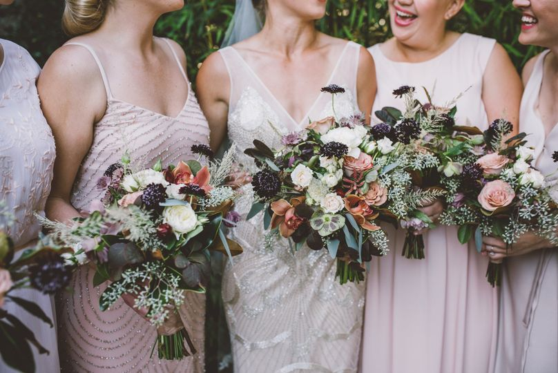Photo by Cristal Veronica | Autumn wedding in Bolinas, California with Venn Floral.