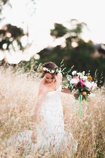 Photo by Studio Castillero | Vibrant Spring Wedding at Arista Winery in Healdsburg, California with...