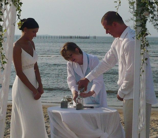 Sand Ceremony Ritual Virginia Beach, VA
