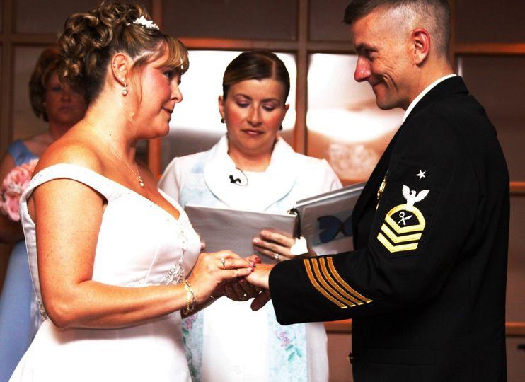 Military Wedding VBRHCC Virginia Beach, VA