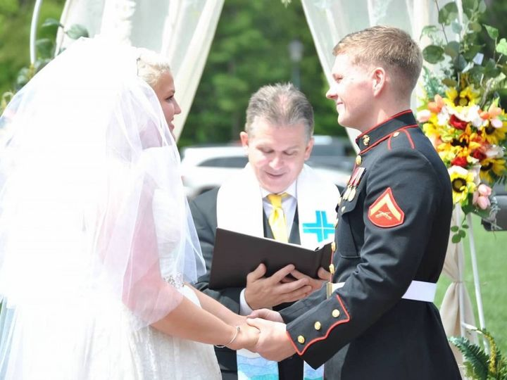 Tmx Ragno Ceremony 2 51 66053 1557665268 Virginia Beach, Virginia wedding officiant