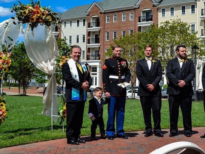 Tmx Ragno Ceremony 4 51 66053 1557665158 Virginia Beach, Virginia wedding officiant