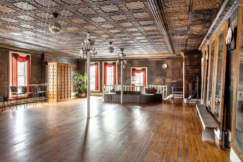 The tin ballroom