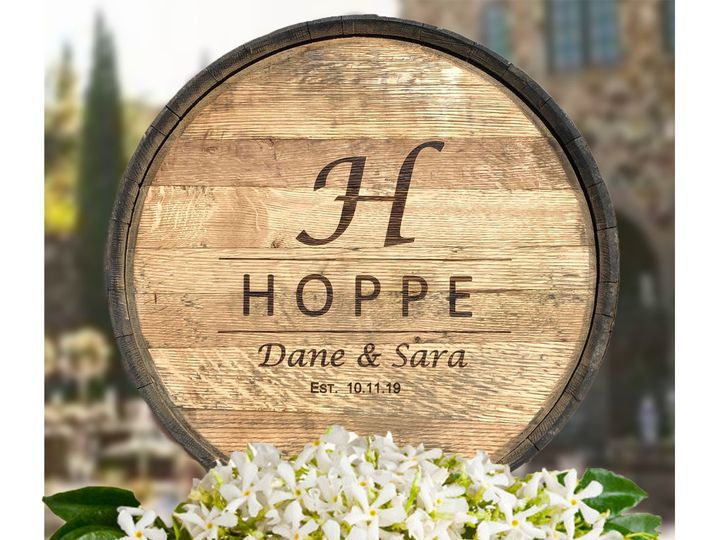 Tmx Reclaimed Whiskey Head Stave And Hoop Natural Hoppe 3 51 1918053 158065852563812 Dallas, TX wedding favor