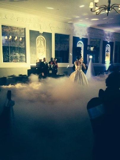 Dancing in the Clouds! This effect will take your guests breathe away! Contact us today for details...