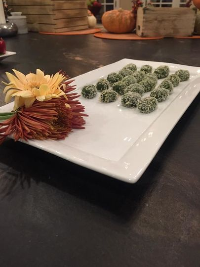 Spinach poppers