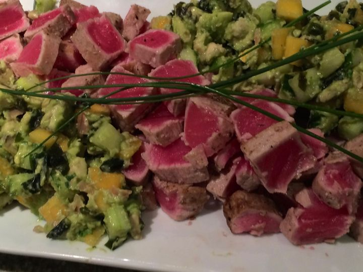 Tmx 1520975558 Da2092797bdf2eeb 1520975556 7a295702dc4898e0 1520975556050 16 Seared Tuna And S Glenside, Pennsylvania wedding catering