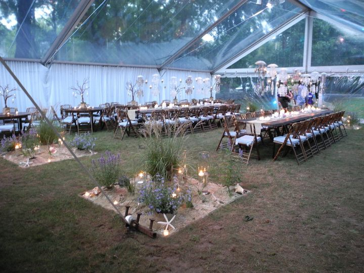 Beachy Tented Event