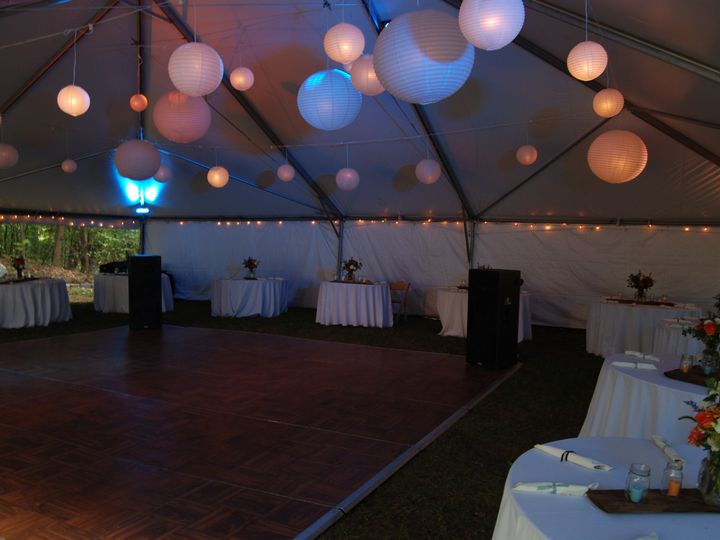 Tmx 1378614272674 40x50 Frame Interior Lanterns Dedham, MA wedding rental