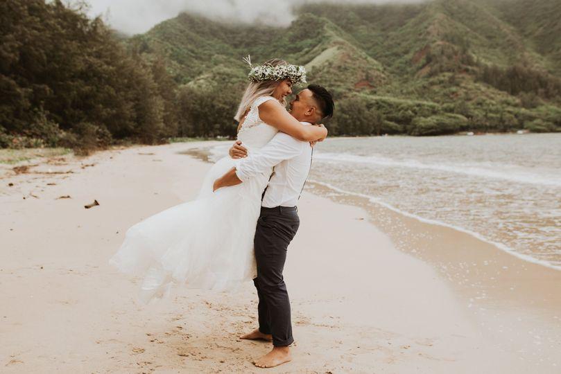 Oahu wedding 8/18