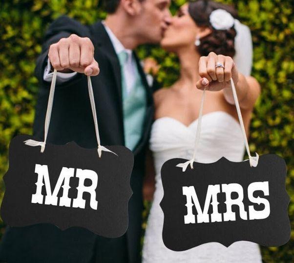 wedding mrmrs