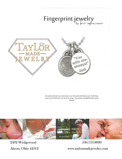 We are happy to announce we now carry Fingerprint jewelry which is jewelry that can be made to the...