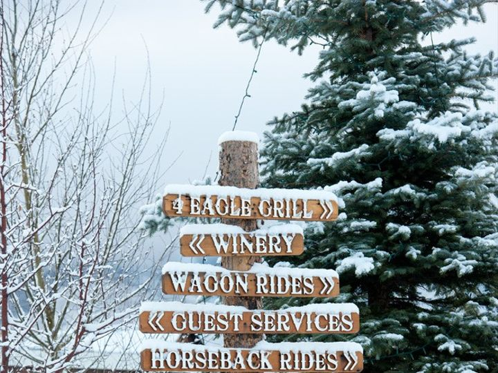 Tmx Welcome Signs With Snow 51 444153 1572632761 Wolcott, CO wedding venue