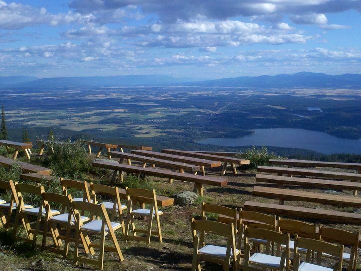 Tmx 1380816597551 Big Mtn Wooden Benches Columbia Falls wedding rental