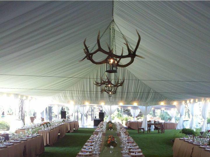 Tmx 1380816617329 Elk Horn Chandelier Columbia Falls wedding rental